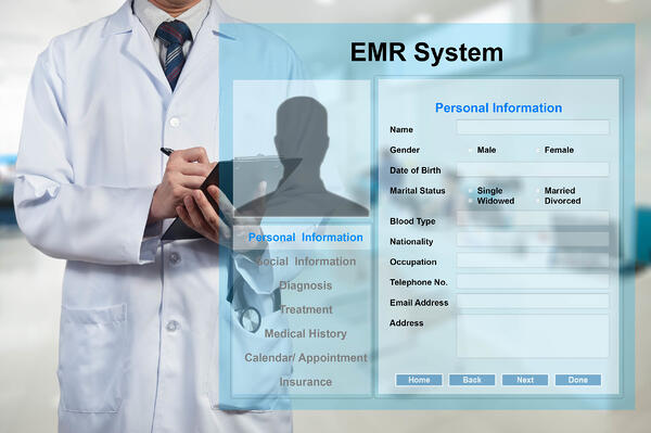 Cloud-based EMRs can act as central hubs where all patient information is conveniently stored for everyone in the healthcare system to remotely access it.