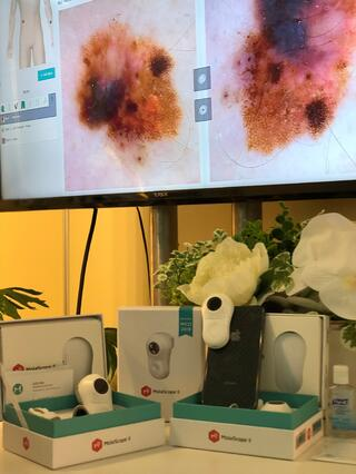 MoleScope DermEngine Setup at WCD 2018