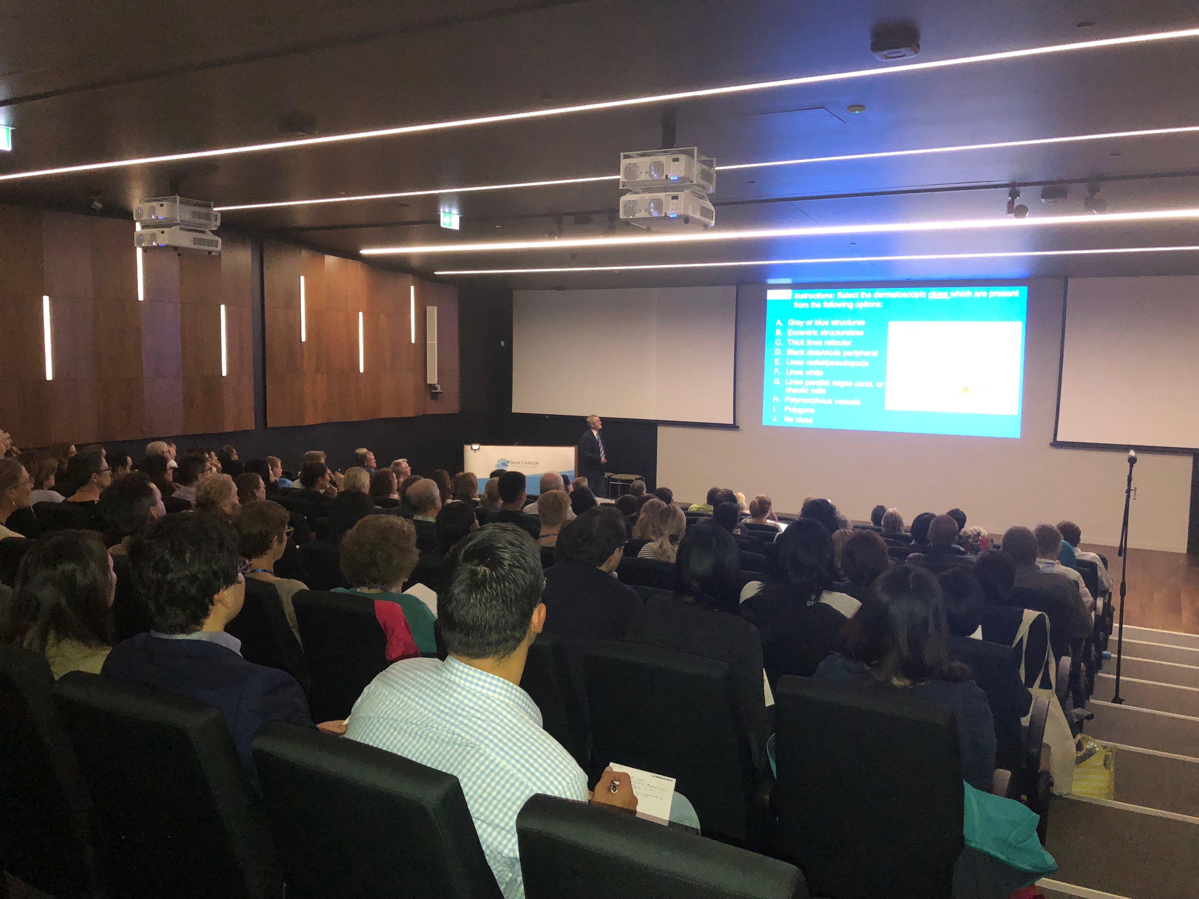 Skin Cancer Symposium DermEngine (Intelligent Dermatology Software) Presentation