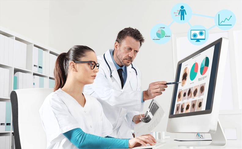 DermEngine AI Visual Search CBIR Clinic