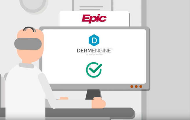 Full integration between Epic and DermEngine allows for existing data to be analyzed with the latest AI-powered tools.