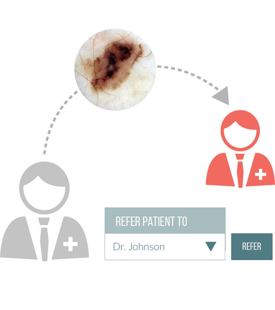 DermEngine Intelligent Dermatology Software Referral Pathology