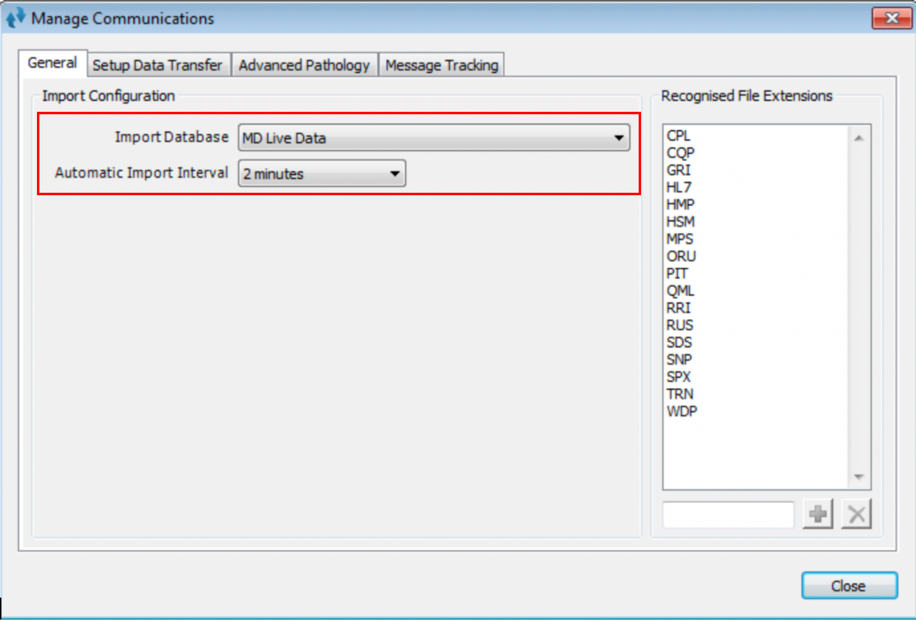 automatic-import-interval-settings
