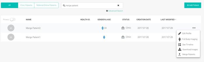 merge patient 1