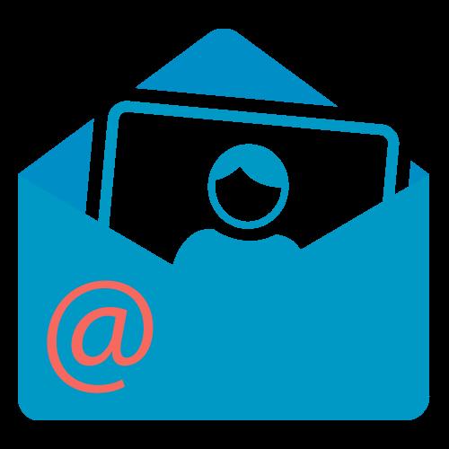 Envoi d'images par courriel