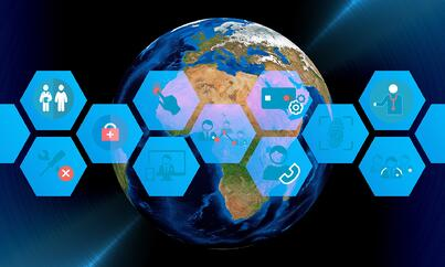 A patient ecosystem connects healthcare EMR systems.
