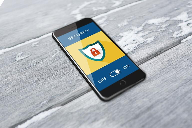 Smartphone security for healthcare information