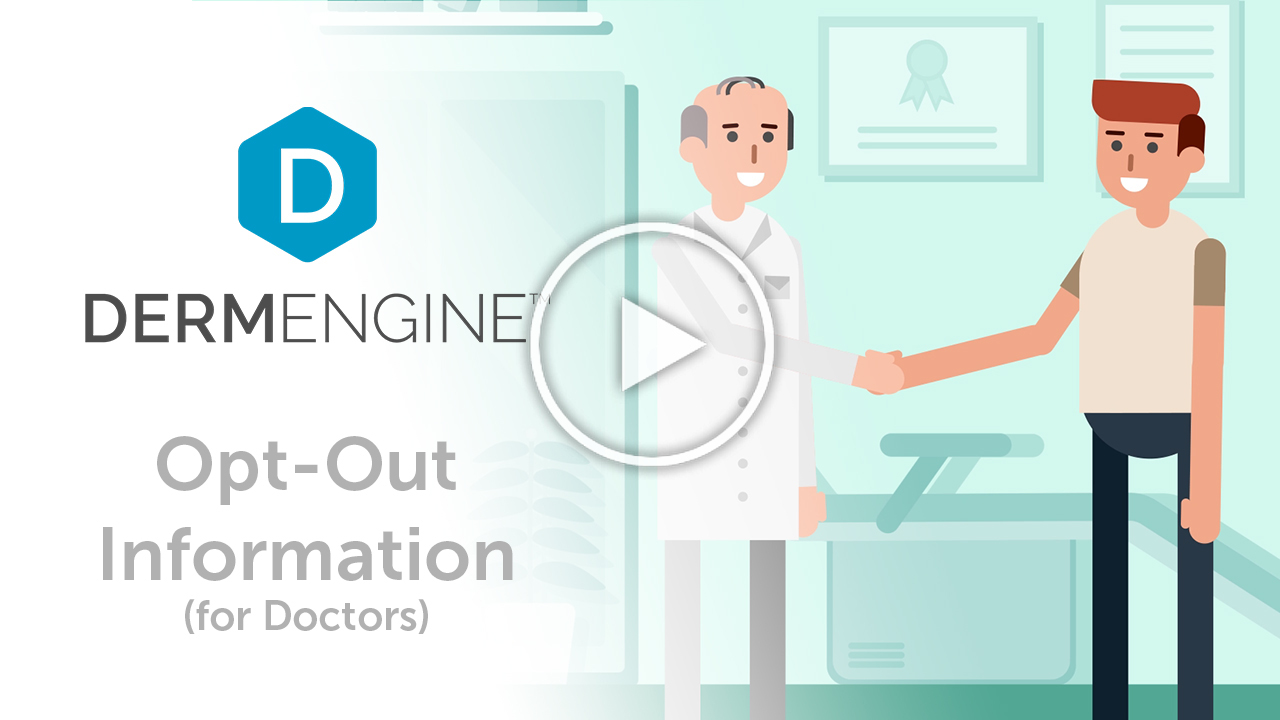 DermEngine Opt Out from Artificial Intelligence tools information video