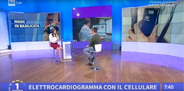 Teledermatology telemedicine DermEngine MedEA Rai Uno Italy