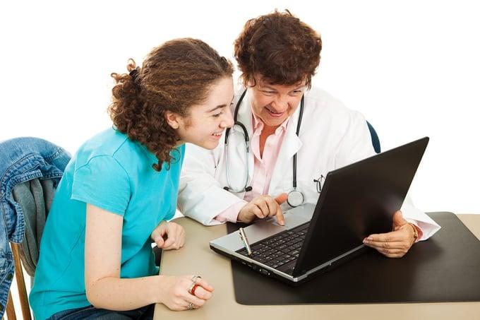 Teledermatology services dermatologist patient-1